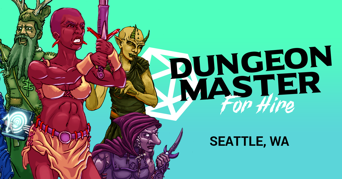 Seattle Dungeon Master For Hire - Seattle Dungeon Master